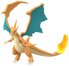 Mega Charizard X - Normal Sprite