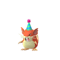Party Hat Raticate