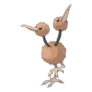Doduo Official Artwork