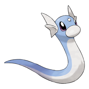 Dratini Official Artwork