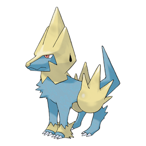 Manectric Official Artwork