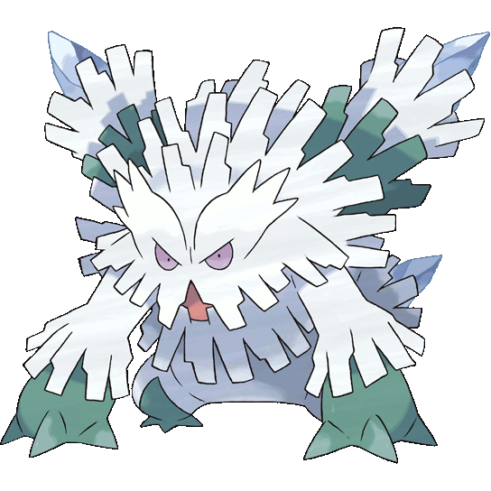 Mega Abomasnow Official Art