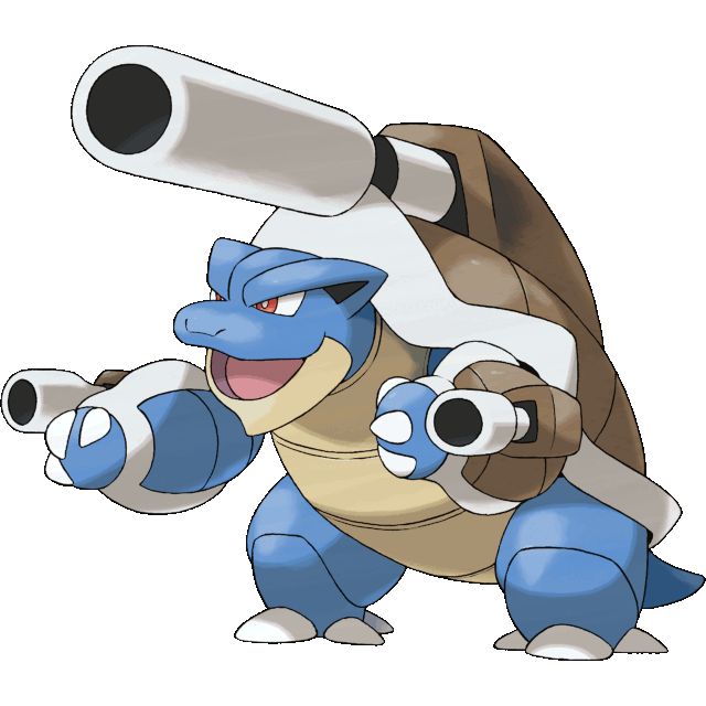 Mega Blastoise Official Art