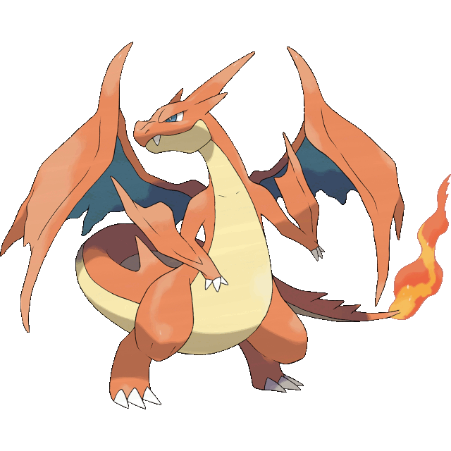 Mega Charizard Y Official Art