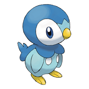 Piplup Official Artwork