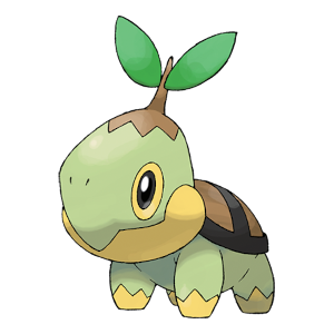 Turtwig Official Artwork