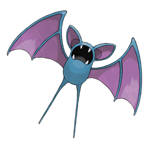 Zubat Official Artwork